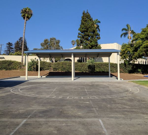 New Shade Structure and Outdoor Classroom